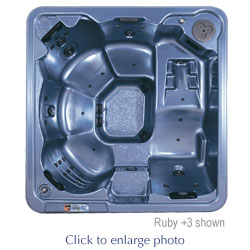 Discount hot tubs including this Popular Lounger Hot Tub