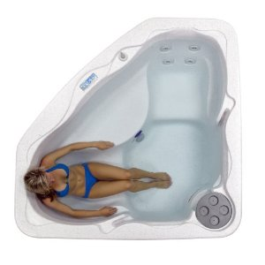lifesmart corner hot tub spa