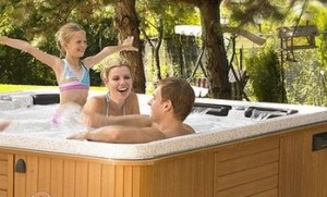 plug and play hot tub spa