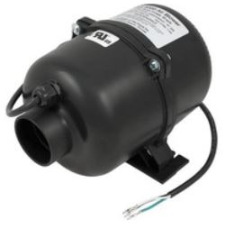 Hot tub air blowers